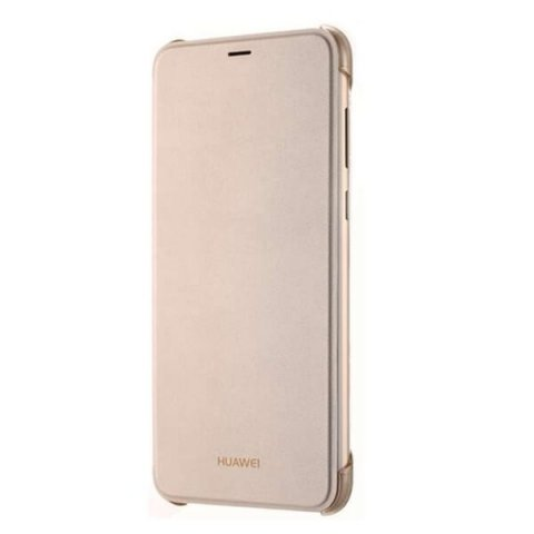 Etui do Huawei P Smart Flip Cover - GOLD