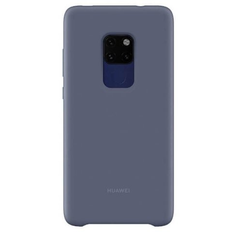 Huawei Silicon Car Case Mate 20 - BLUE
