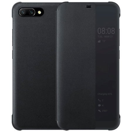 Honor 10 Smart View Flip Cover - BLACK